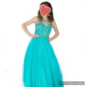 Tiffany Princess pageant dress